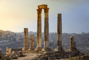 Roman ruins, Amman, Jordan